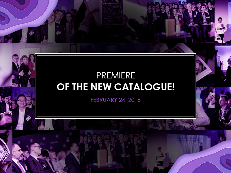 Premiere of the New Catalogue!