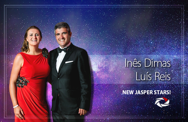 THE NEW JASPER STAR! Congratulations to Luís Reis and Inês Dimas - FM WORLD Portugal!