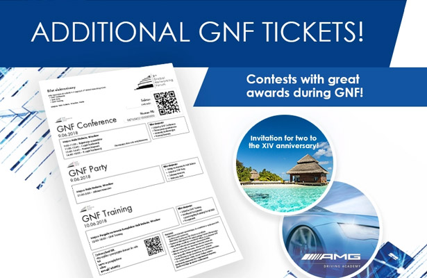 3rd GNF - additional tickets available! Win wonderful prizes!