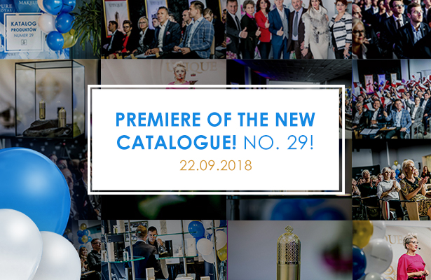THE WORLDWIDE PREMIERE OF THE CATALOGUE NO. 29!