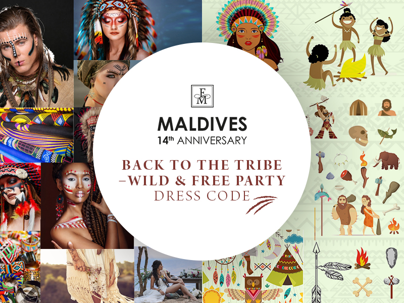 BACK TO THE TRIBE – WILD & FREE PARTY - DRESS CODE!