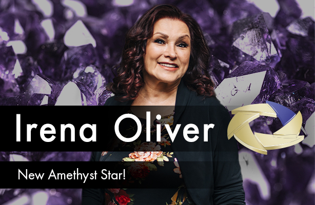 Irena Oliver - new Amethyst Star!