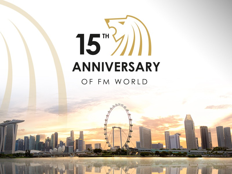 We present details of the 15th anniversary of FM WORLD!