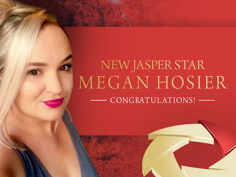 Fastest Jasper Star in FM WORLD - Megan Hosier FM WORLD UK!