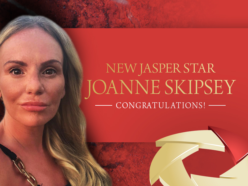 NEW JASPER STAR! JO SKIPSEY FM WORLD UK!